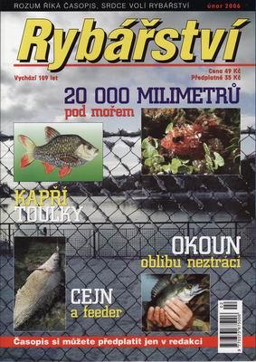 2006/02 časopis Rybářství