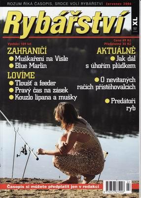 2006/07 časopis Rybářství