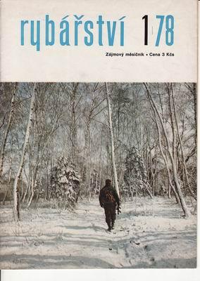 1978/01 časopis Rybářství