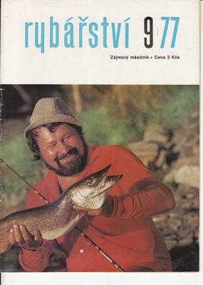 1977/09 časopis Rybářství
