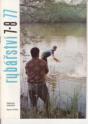 1977/07-8 časopis Rybářství