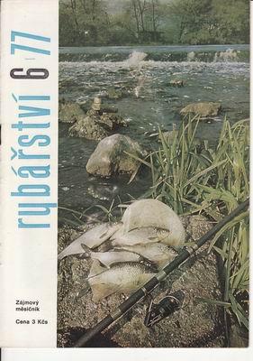 1977/06 časopis Rybářství