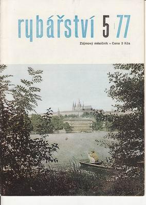 1977/05 časopis Rybářství