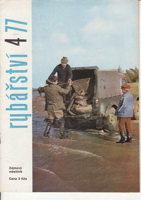 1977/04 časopis Rybářství