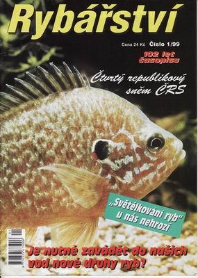 1999/01 časopis Rybářství
