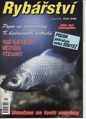 1999/02 časopis Rybářství