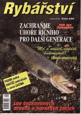 1999/04 časopis Rybářství