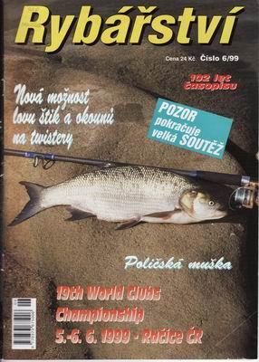 1999/06 časopis Rybářství