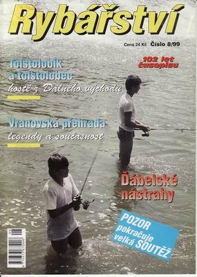 1999/08 časopis Rybářství