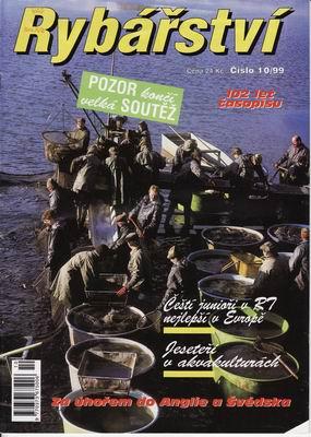 1999/10 časopis Rybářství