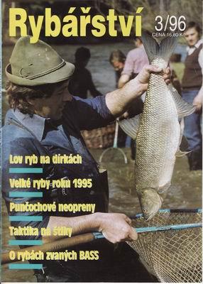 1996/03 časopis Rybářství