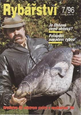 1996/07 časopis Rybářství