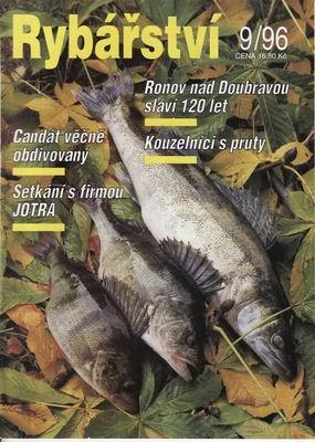 1996/09 časopis Rybářství