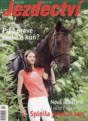2005 / srpen - Jezdectví, časopis