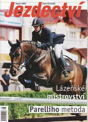 2003 / srpen - Jezdectví, časopis
