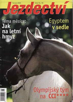 2005 / červen - Jezdectví, časopis