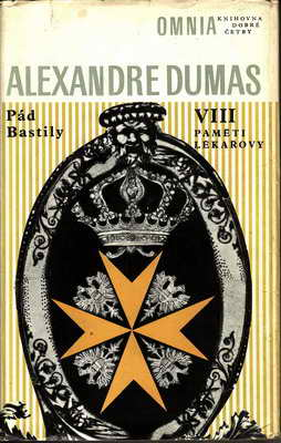 Pát Bastily II. Paměti lékařovy / Alexandre Dumas, 1971