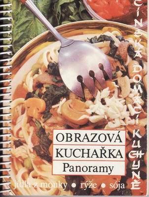 Obrazová kuchařka, jídla z mouky, rýže, sója / Čínská kuchyně, 1988