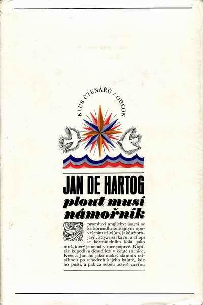 Plout musí námořník / Jan de Hartog, 1972