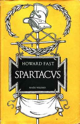 Spartacus / Howard Fast, 1955, posk. obal